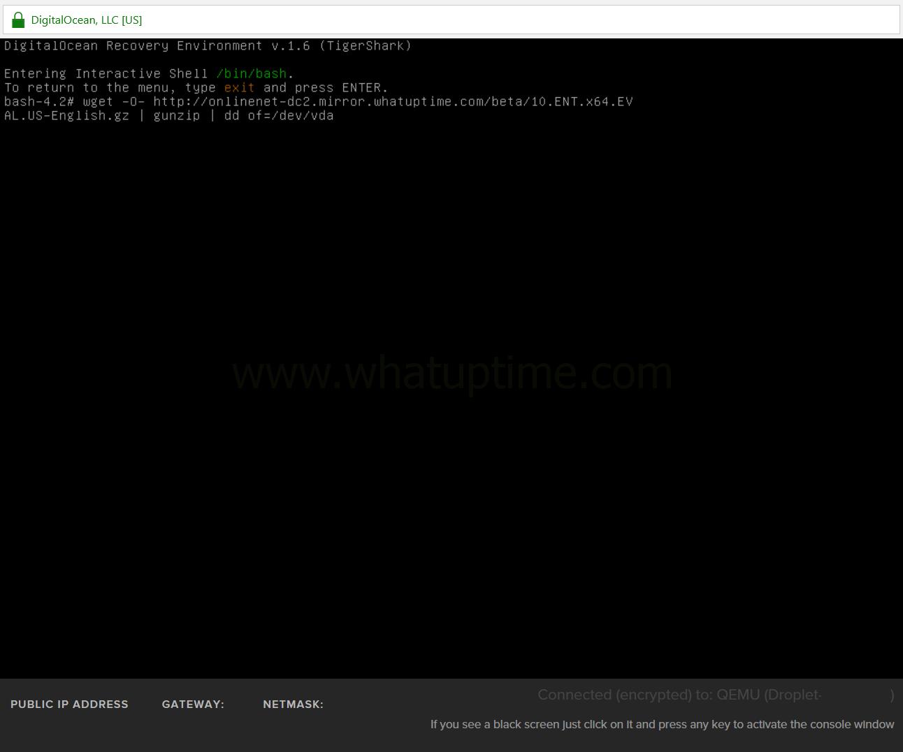21-digitalocean-input-wget-windows-installation - WhatUpTime com