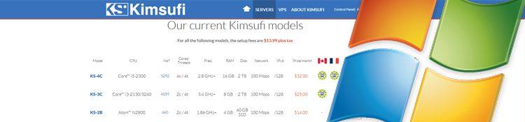 Installing Microsoft Windows onto Kimsufi Dedicated Servers