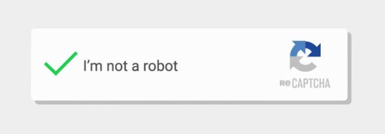 Google's reCAPTCHA Enabled Site Wide